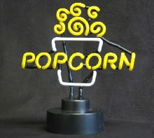 Popcorn Topper Neon Sign
