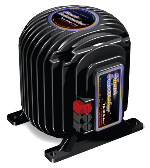ButtKicker Silent Subwoofer for Car Audio