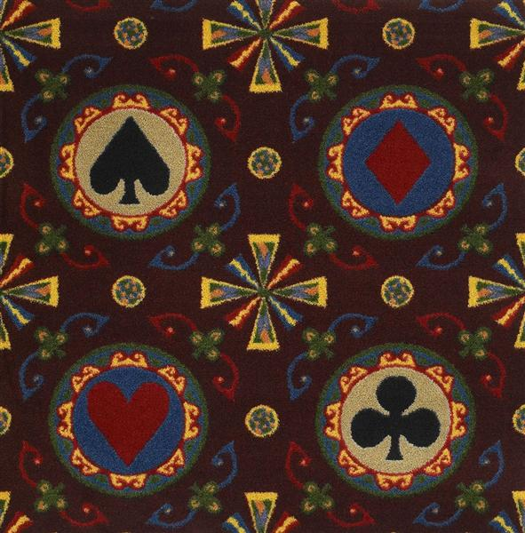 Stacked Deck Casino Carpet