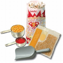 Popcorn Starter Kit for 4 oz. Popcorn Machines