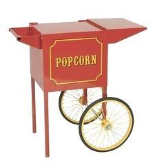 Cart for 1911 Style 4 oz Popcorn Machine