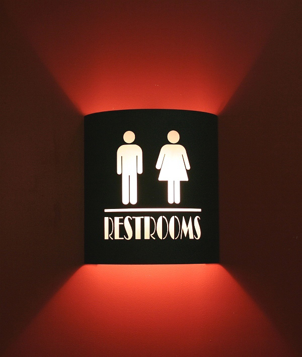 Restroom Theater Sconce (No Filmstrips)
