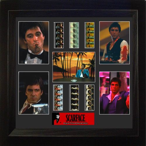 scarface montage special edition film cell