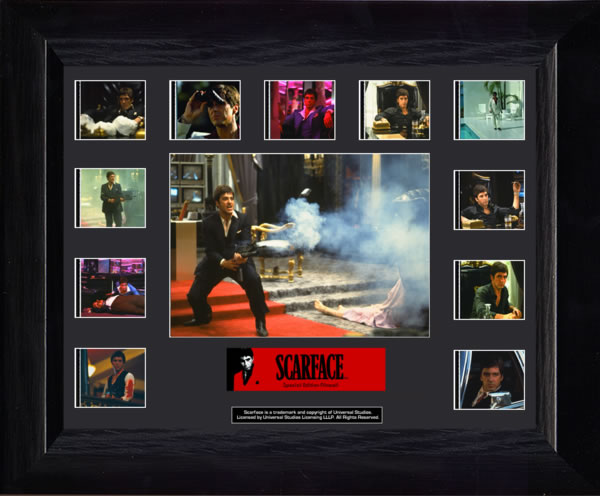 Scarface Special Edition Mini Montage Film Cell