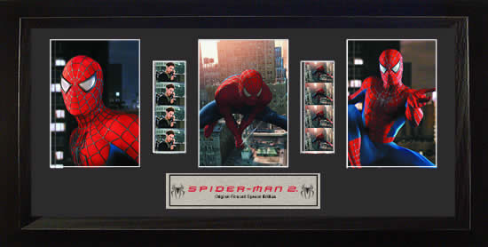 Spider-Man 2 Trio Special Edition Film Cell