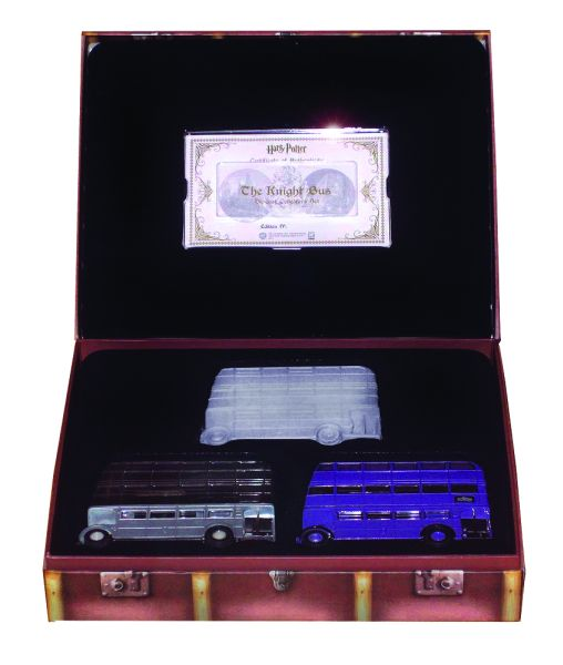 Harry Potter Die Cast Knight Bus Collectors Edition Set
