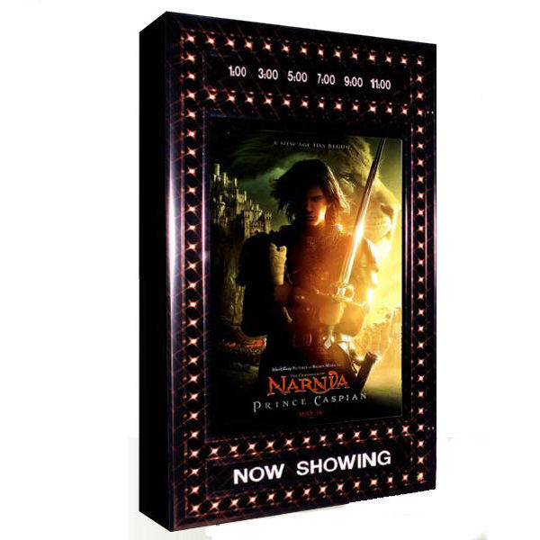 Deluxe Chaselite Illuminated Poster Case with Double Dater