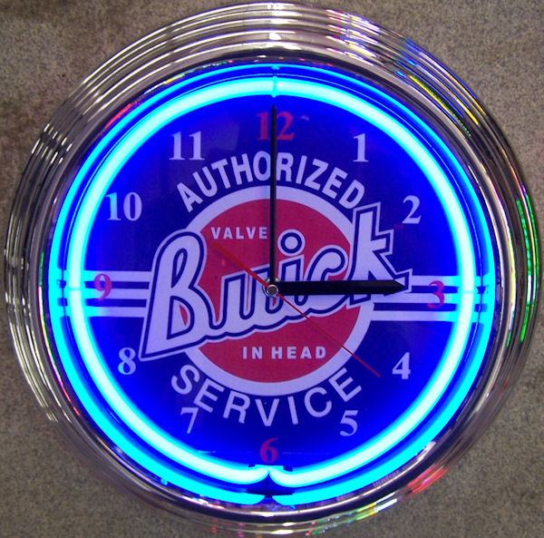 GM Buick Clock