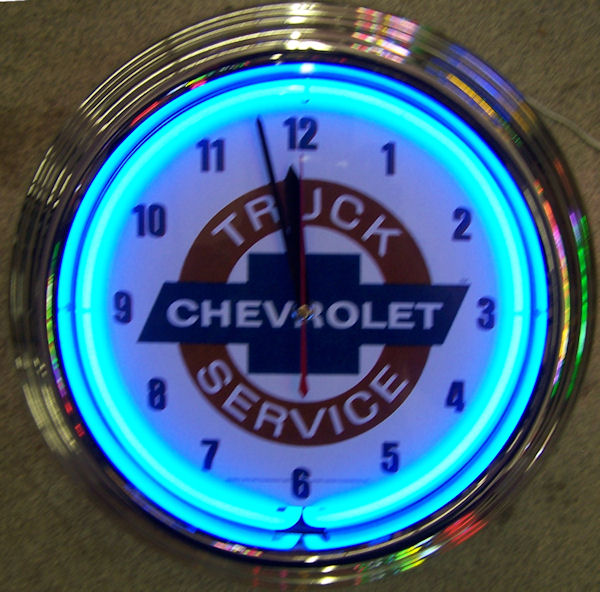 GM Chevy Truck Clock