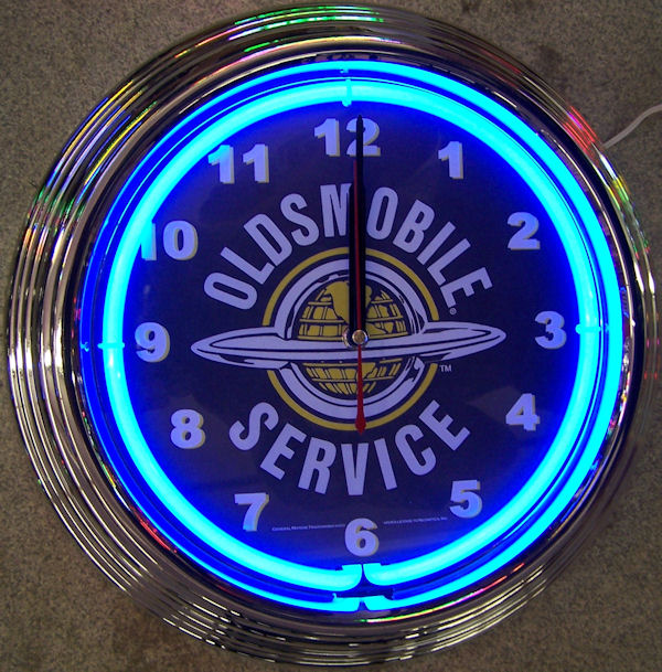 GM Olds Service Clock