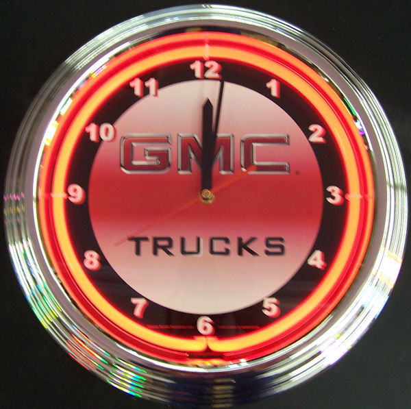 GMC Trucks Clock