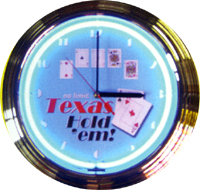 Poker Texas Hold Em Clock