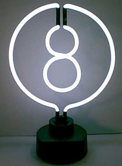 8 Ball Sculpture