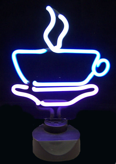 Coffee Cup Sculpture