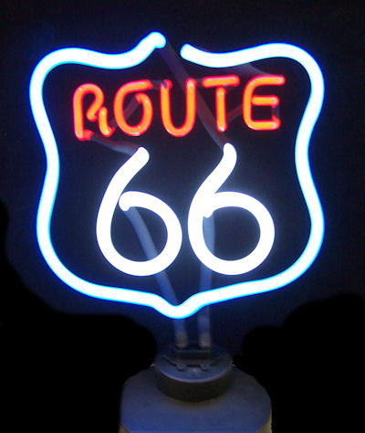 Route 66 Sculpture