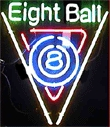 Eight Ball Sign