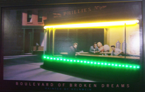 Boulevard of Broken Dreams Neon/LED Poster