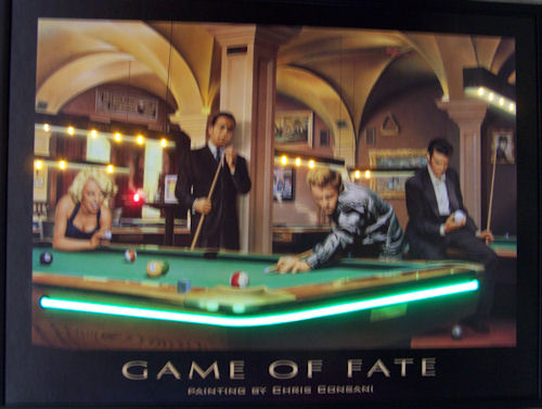 Game of Fate Neon/LED Poster