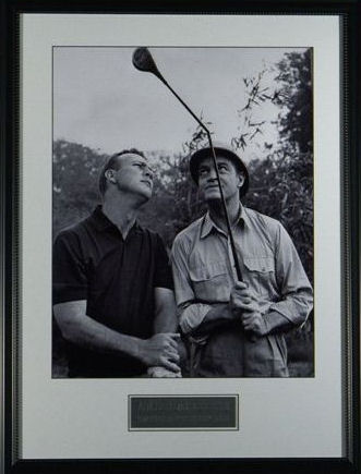 """Golf & Comedy Kings"" with Engraved Signatures"