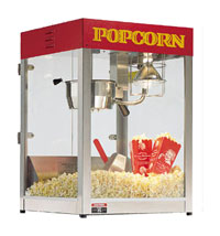 Cretors Goldrush Plus 6oz Popcorn Machine