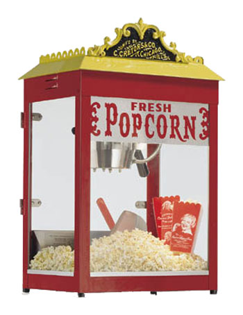 Cretors Antique Popcorn Machine 12 oz.