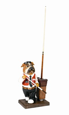 Bulldog - Pool Cue Holder