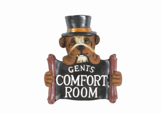 Comfort Room -Gents Sign