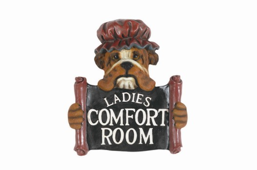 Comfort Room -Ladies Sign
