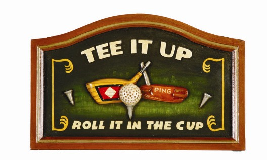 Tee It Up Sign