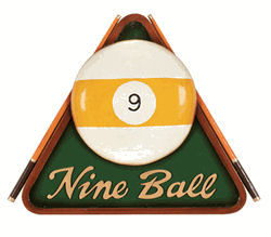 Nine Ball Sign
