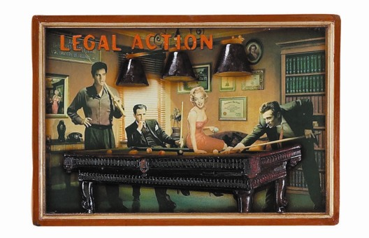 Legal Action Pub Sign