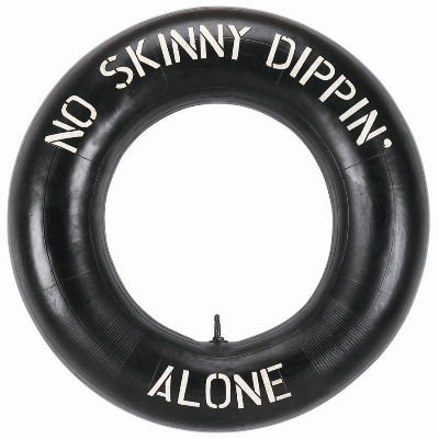 No Skinny Dipping Alone Sign