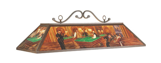 Billiards Hall Pool Table Light