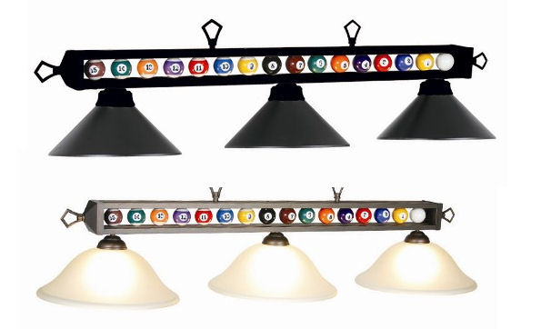 Billiard Ball Light Fixture