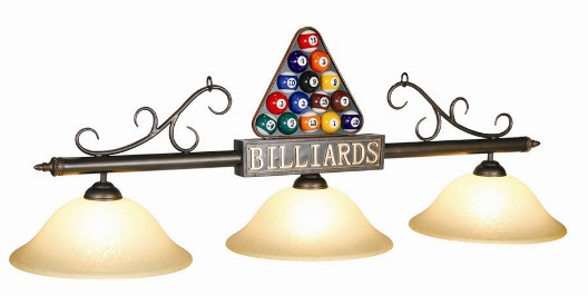 Billiards Light Billiard Fixture