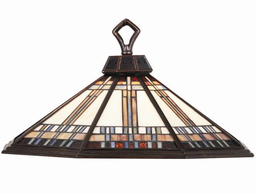 Winslow Stain Glass Pendant Ceiling Light