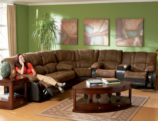 The Ronan Collection Reclining Sectional