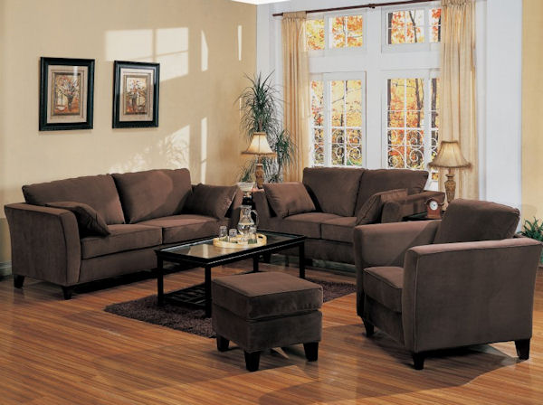 The Park Place Collection Chocolate Brown