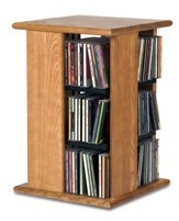 Hardwood Swivel Tower