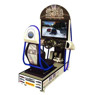 "Sega Rally 32"" LCD Screen Arcade Game"