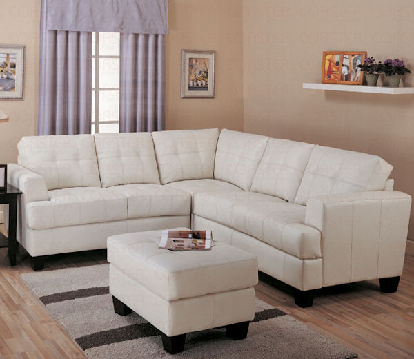 The Samuel Collection Cream Sectional