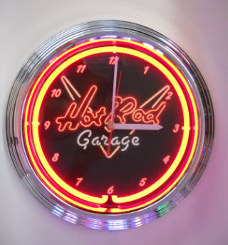 Hot Rod Clock