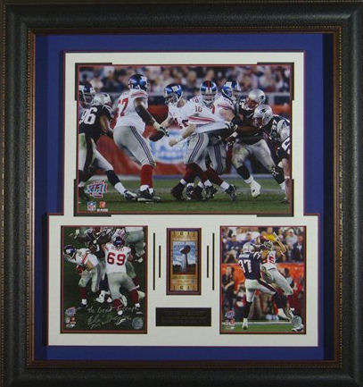 Eli Manning New York Giants photograph signed