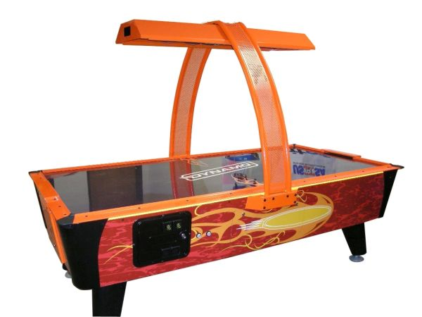 Firestorm 8' Air Hockey with Overhead Score Unit Table for Home