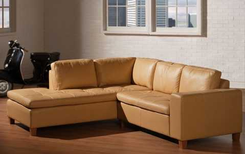 Allegro Sectional  (Standard Leather)