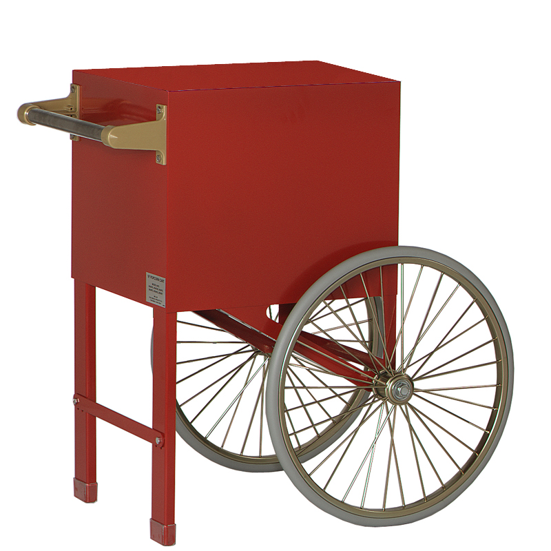 Cart for 6 oz Antique Deluxe Sixty Popcorn Machine (without lettering)