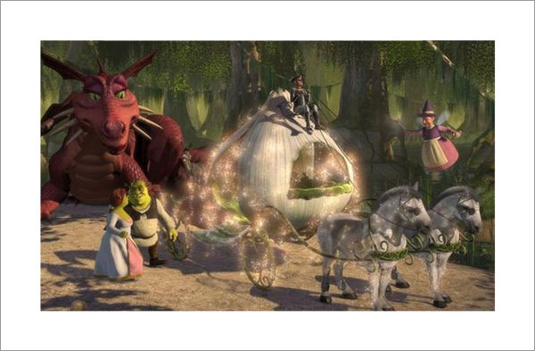 Shrek Magical Scene