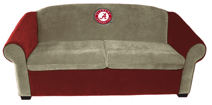 Alabama Crimson Tide Sofa