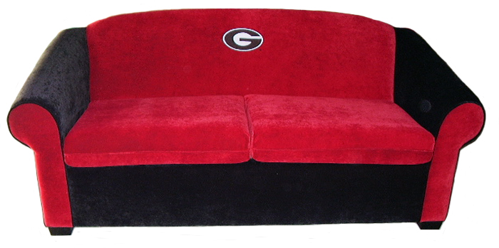 Georgia Bulldogs Sofa
