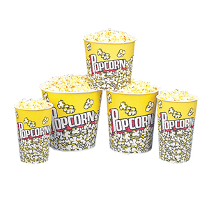 Popcorn Design Tub 170 0z (150 Count)